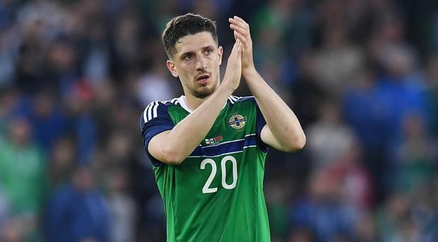Injury doubt: Craig Cathcart