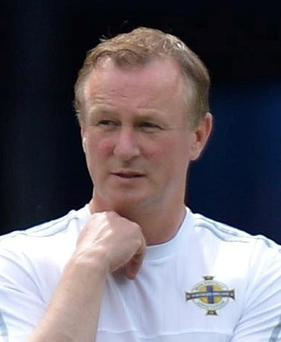Bring it on: Michael O'Neill says Croatia will be a big test for his side