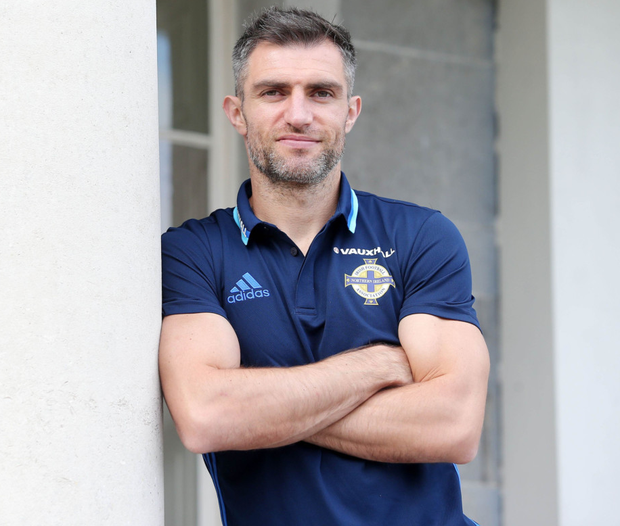 Whole new world: Aaron Hughes believes he will look back at his stay in India as one of the best experiences of his life