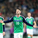 Shrugging it off: Oliver Norwood believes Northern Ireland's defeat to Croatia won't affect their World Cup qualifying campaign