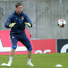 Focused: goalkeeper Michael McGovern says Northern Ireland are capable of winning in Azerbaijan
