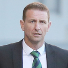 Tough night: Northern Ireland U-21 boss Ian Baraclough