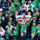 Northern Ireland's fans.