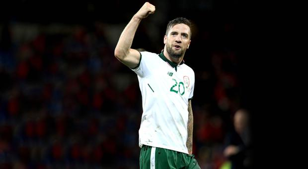 Super Shane: Republic of Ireland's Shane Duffy has won the admiration of assistant manager Roy Keane