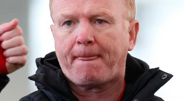 Hotseat: Scotland manager Alex McLeish