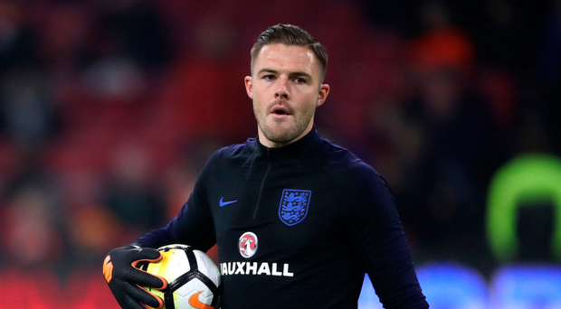 Getting the nod: Jack Butland is set to start against Italy