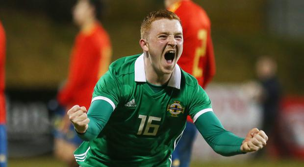 Late selection: Everton hitman Shayne Lavery could make his Northern Ireland debut on the tour of Central America