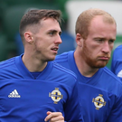 Showing way: Gavin Whyte and Liam Boyce have shone in England after coming through the Irish League