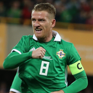 Ready to go: Steven Davis is bullish about Northern Ireland