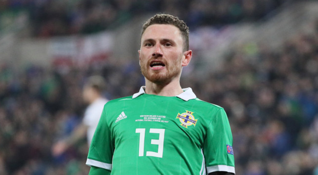 Lead role: Corry Evans will captain Northern Ireland at Windsor for the first time