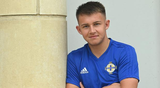 Bright future: Northern Ireland U-21 midfielder Caolan Boyd-Munce