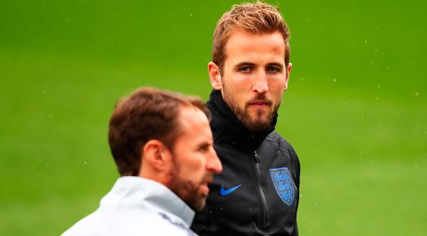 Lead role: Gareth Southgate says Harry Kane will start