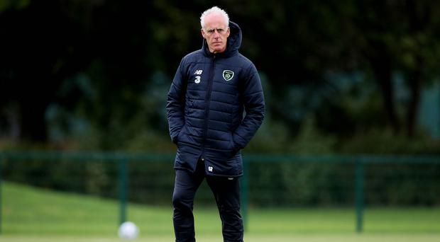 Republic of Ireland boss Mick McCarthy