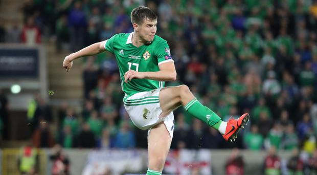 Missed call: Paddy McNair felt he should have had a spot kick