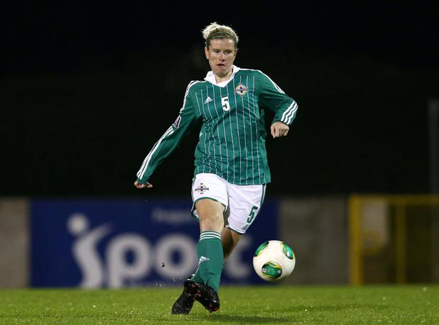 On international duty with Northern Ireland