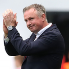 Waiting game: Michael O'Neill's side face a host of Euro 2020 permutations