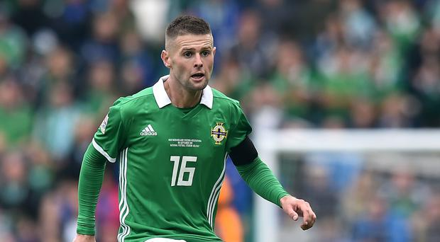 No go: Oliver Norwood walked away from NI duty in August