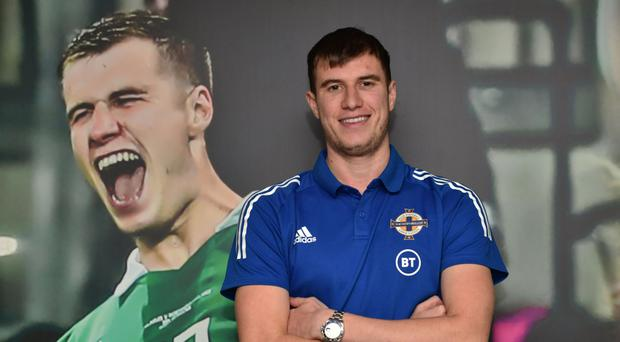 Video nasty: Paddy McNair believes Northern Ireland have learned from their mistakes after re-watching their previous clash with the Dutch