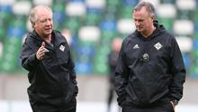 Word of advice: Jimmy Nicholl speaks with Michael O'Neill