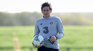 Step up: Keith Andrews is part of the senior backroom team