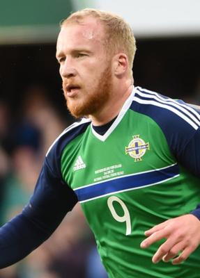 Stretchered off : Liam Boyce may be missing for key games