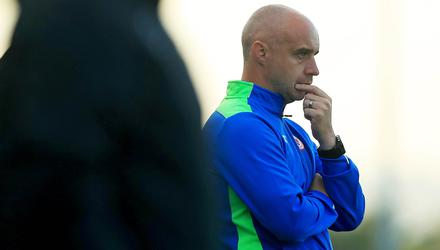 Food for thought: Gerard Lyttle has been linked with Oriel Park post