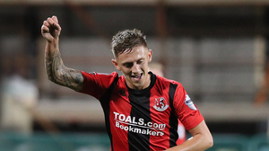 Moving on: Matthew Snoddy is to leave Seaview after a loan spell at Glenavon