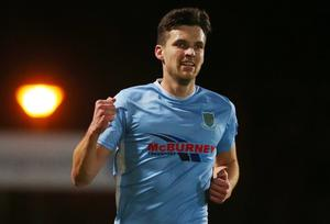 Looking ahead: Adam Lecky is hoping Ballymena step it up