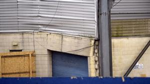 It became apparent Windsor Park's old Kop Stand would have to be demolished.