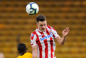 New face: Jake Dunwoody has joined Derry City until the end of the season