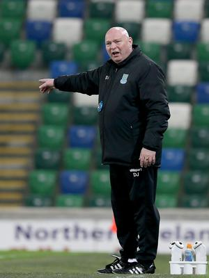 Mixed emotions: David Jeffrey was gutted, but proud of players