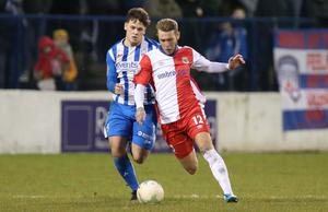 ROCK THE VOTE: Coleraine and Linfield were two of the three clubs to back the NIFL's two-match proposal