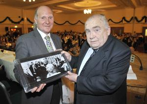 Roy Coyle with Malcolm Brodie