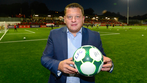 Call it: Larne owner Kenny Bruce wants the season to end
