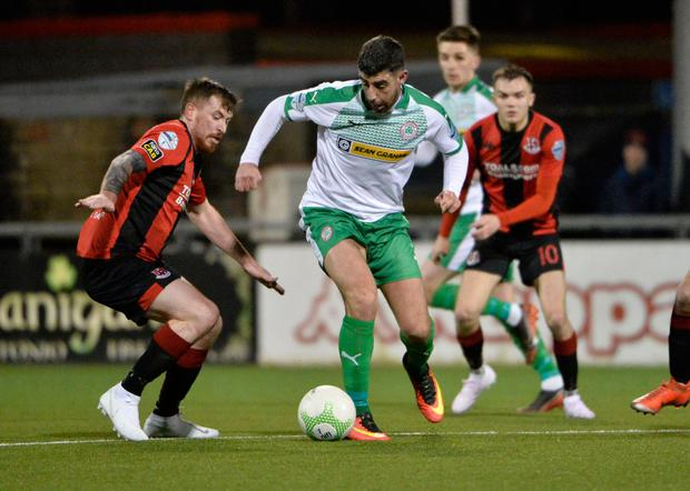 Uncertain time: the Danske Bank Premiership was put on hold in March and must inform Uefa of next steps before May 25
