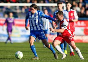 Linfield and Coleraine have been battling it out at the top of the league
