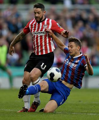 Eye for goal: Rory Patterson is returning to Derry City