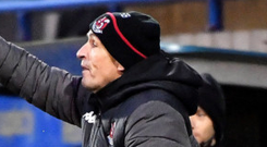 Staying calm: Stephen Baxter is taking nothing for granted