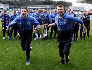 Sean Ward savouring Gibson Cup success at Linfield