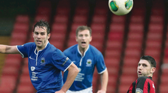The Shield final between Linfield and Crusaders was postponed last month
