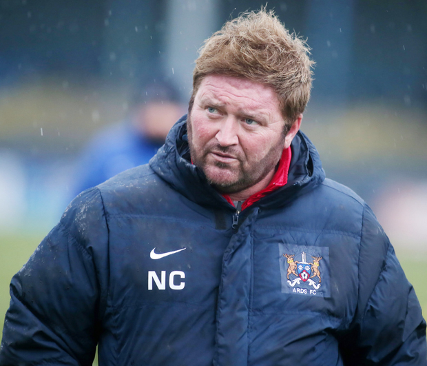 Concern: Ards boss Niall Currie must contend without a host of players