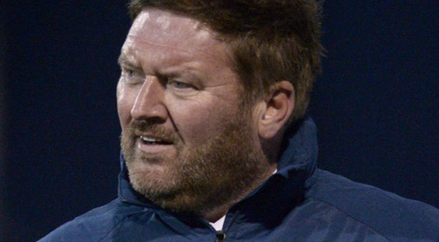 Remaining upbeat: Niall Currie