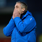 Painful: Ards boss Colin Nixon endured another tough night
