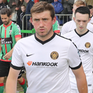 Denver Gage joined Carrick from Ards in the summer