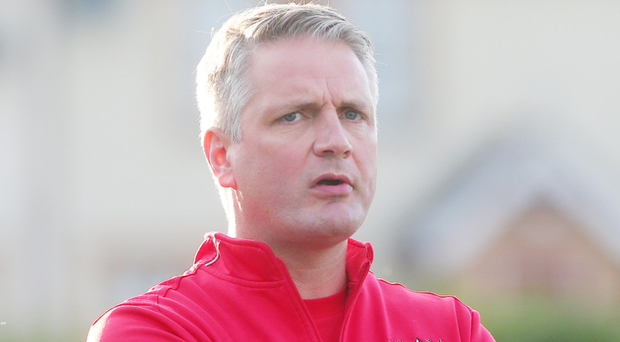 On the rise: Colin Nixon is glad Ards are off the bottom