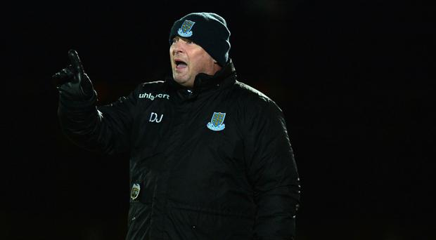 Upbeat: manager David Jeffrey is confident of lifting Shield