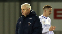 Ducking out: Gavin Dykes has resigned from Ballinamallard