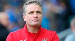 Going nowhere: Ards' Colin Nixon