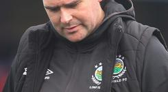 Looking forward: David Healy is aiming to shake off the loss
