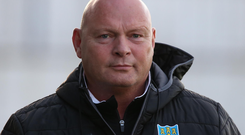 Raring to go: David Jeffrey